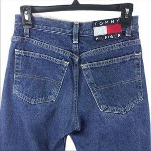 Vintage 90s Tommy Hilfiger box logo straight jeans